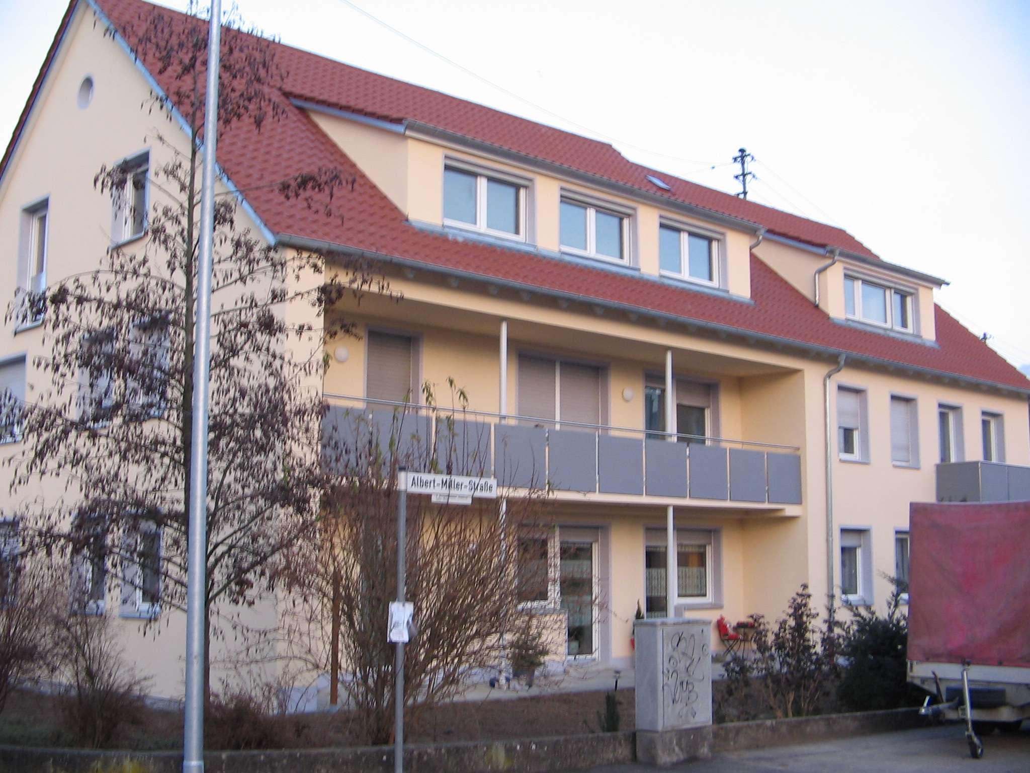 2 Zimmer Wohnung in Burgau mit Balkon und Kellerraum in Burgau