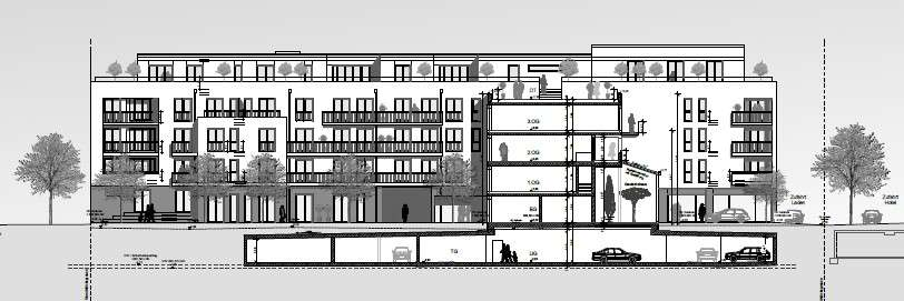 Erstbezug mit Balkon: stilvolle, geräumige 3-Zimmer-Wohnung in Schwabing, München in Schwabing (München)
