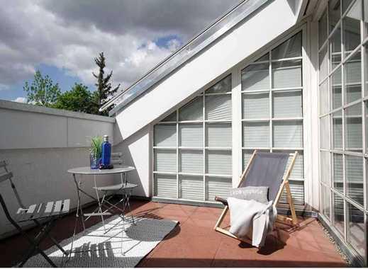 Toplage - 3,5-Zimmer-Dachgeschosswohnung mit Dachloggia in Stuttgart
