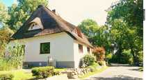 Repräsentativer Landsitz Bauernhaus mit Reetdach