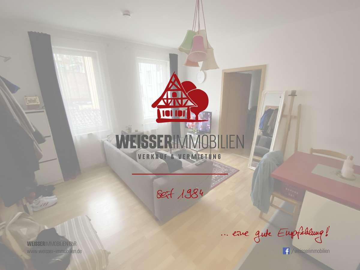 Helle, ruhige und gemütliche 2 Zimmerwohnung in zentrumsnaher Lage in Südstadt (Fürth)