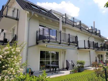 WALDPERLACH - Schicke Garten-Wohnung - NEUBAU - Fußbodenheizung, 2 Bäder, exclusive EBK, Hobbyräume in Perlach (München)