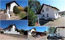 Einfamilienhaus mit Anbau und Doppelcarport -