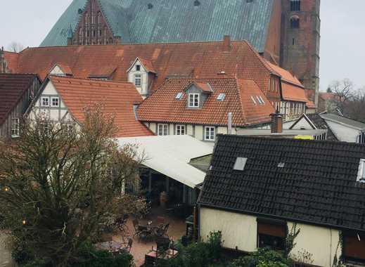 1-Zimmer-Mietwohnung in Verden mit Blick auf den Dom, super-zentral