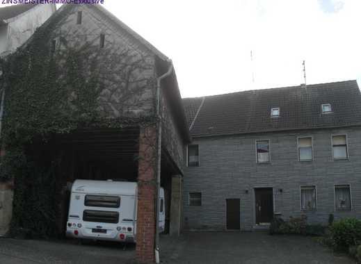 Bauernhaus mit Scheune, Stall und Hof - Land pur