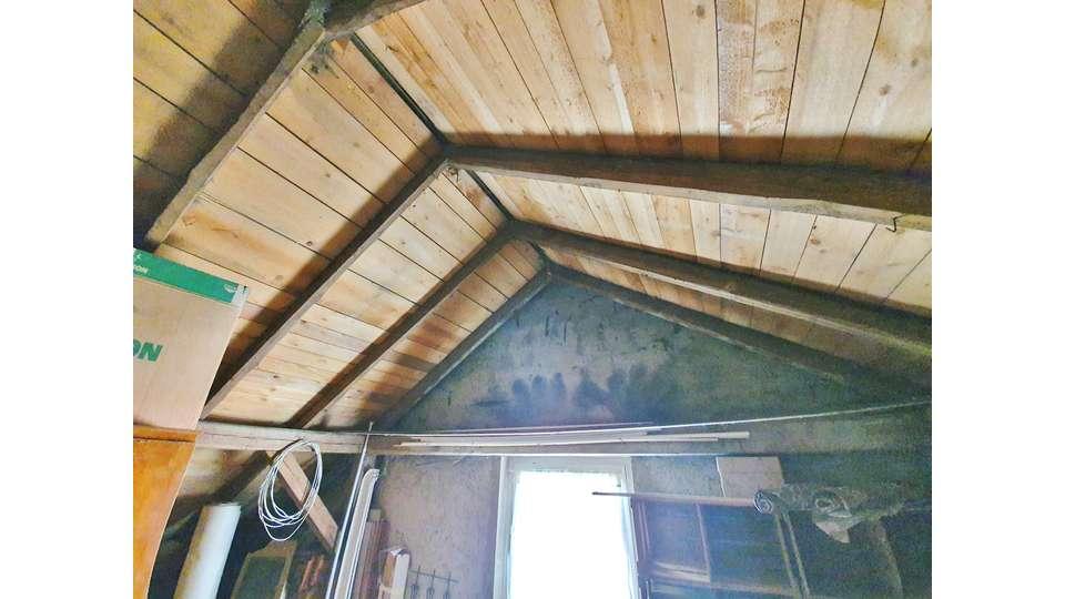Dachboden nicht ausgebaut
