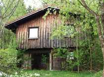 Freizeitgrundstück mit Jagdhütte und tollem