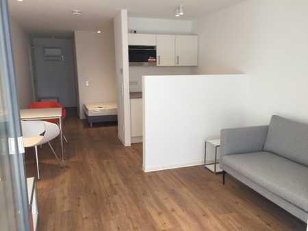 ***Modern möbliertes 1-Zimmer Apartment mit Tiefgaragenstellplatz in Muggenhof (Nürnberg)