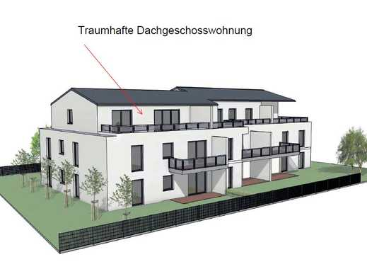 Exklusive Neubau-Dachgeschosswohnung in  Neuburg an der Donau