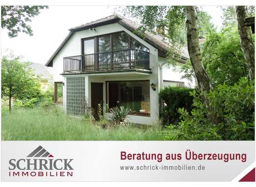 Renovierungsbedürftig mit viel Potenzial ... Einfamilienhaus mit Einliegerwohnung am Feldrand