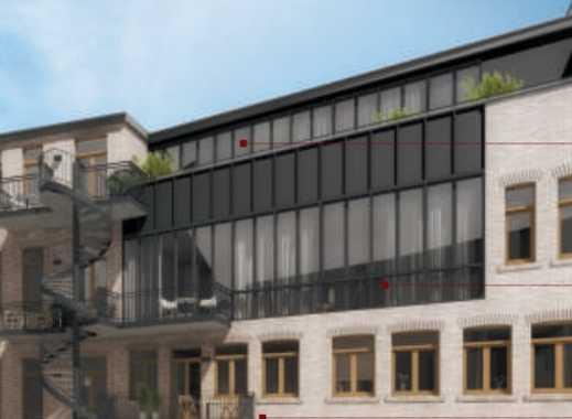 luxuriöses Penthouse mit einmaligen & weitem Blick über Halle`s Dächer - direkt in der City