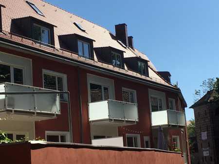 *** Helle Dreizimmerwohnung in der Altstadt - TG-Stellplatz - Balkon - Beim Neuen Museum *** in Altstadt, St. Lorenz (Nürnberg)