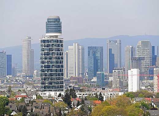 Henninger Turm Digital&Electric, 25.Stock City-Blick, 3 Zimmer, XL-TG, ab 1.6.2019, ohne Provision