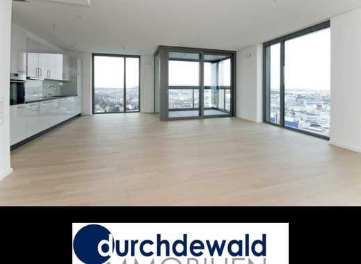 Moderne 3-Zimmer-Neubau-Wohnung mit Panoramablick im höchsten Wohnhaus Stuttgarts