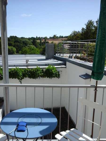 Schöne möblierte 2-Zimmer-Wohnung Nähe Jakobskirche mit Panoramablick -ideal für Singles –von privat in Berg (Bamberg)