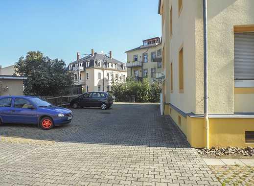 """""""""""Pkw-Stellplatz"""""""" im Innenhof einer ruhigen Seitenstraße"""