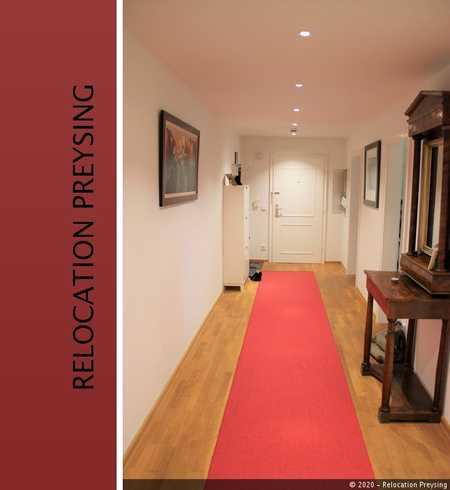 *** Fully furnished *** Familienfreundliche 4,5 Zimmer Wohnung mit 2 Balkonen in Nymphenburg-Gern  in Neuhausen (München)