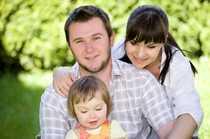 Familienwohnung im Grünen