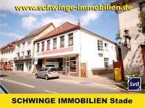 Bild SCHWINGE IMMMOBILIEN Stade: Wohn- und Geschäftshaus im Zentrum von Bremervörde.