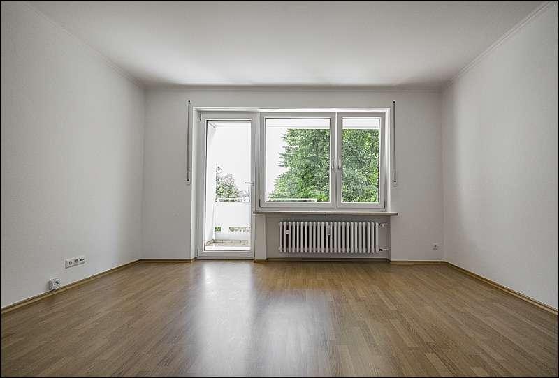Sanierte 2.- Zimmer Wohnung mit sonnigem Balkon in guter Lage von Dachau