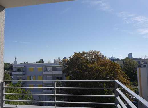 Zuhause in Frankfurt! Intelligent geschnittene 3-Zimmer-Wohnung mit sonniger Loggia