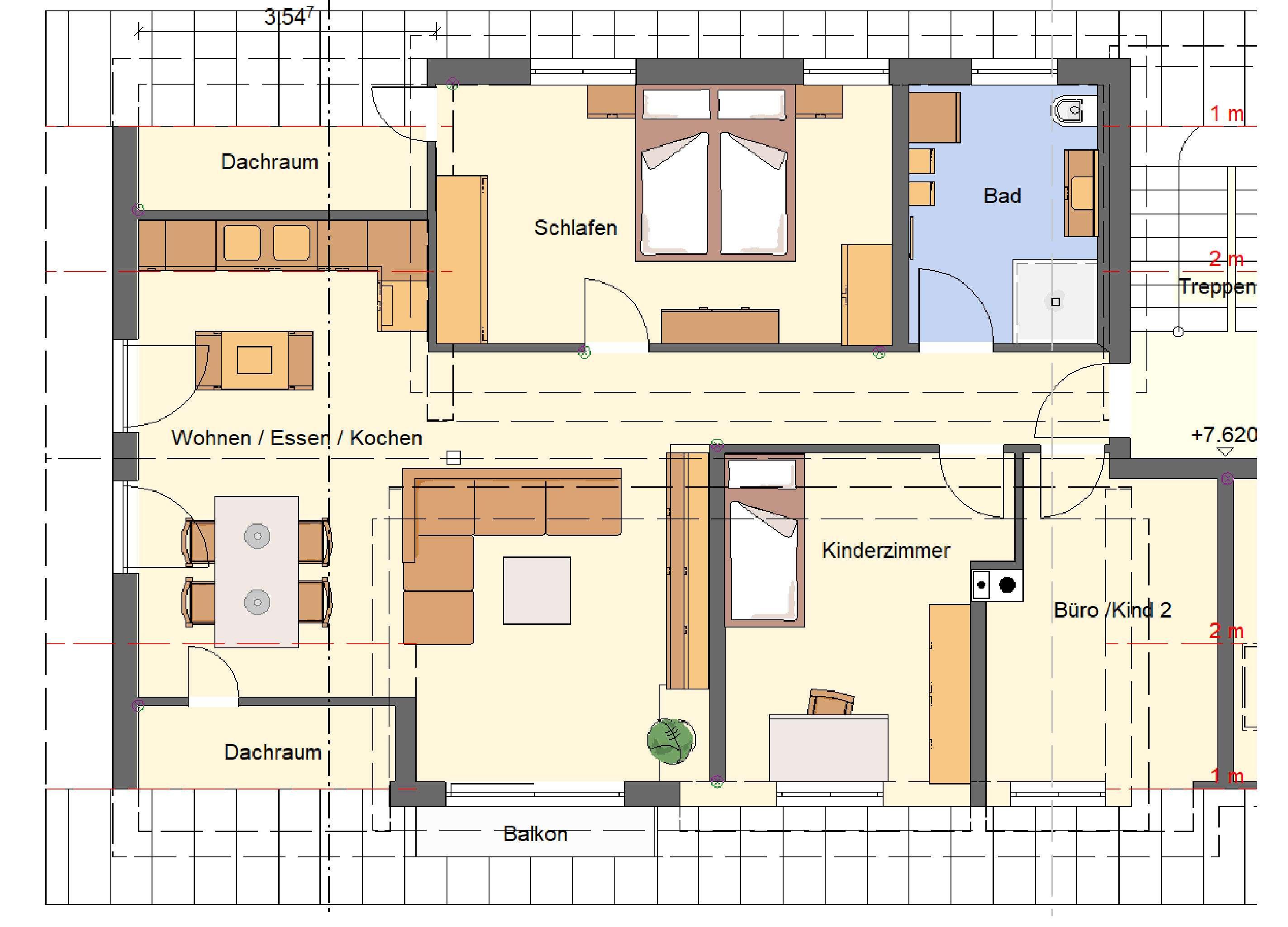 Helle, komplett sanierte 4-Zimmer Wohnung in Marktoberdorf