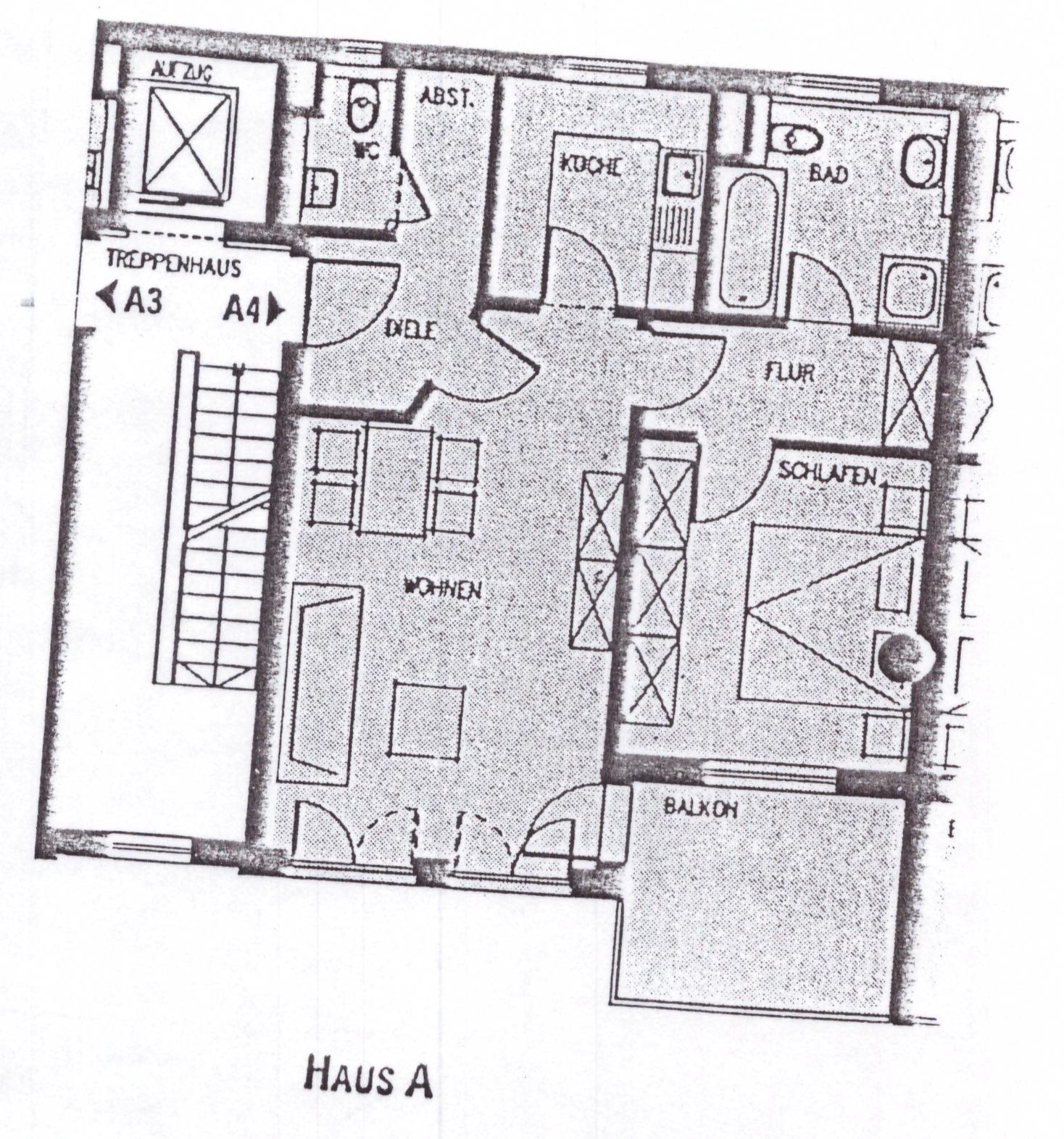 Exklusive, gepflegte 2-Zimmer-Wohnung mit Balkon und EBK in Augsburg in Augsburg-Innenstadt