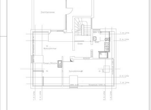 Sanierte 3-Zimmer-Dachgeschosswohnung mit Terrasse und EBK in Alzey