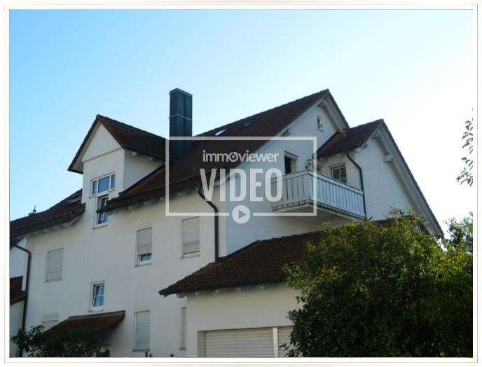 Mit Blick auf den Dom! 3-Zimmer-Wohnung im Dachgeschoss in Freising in Freising