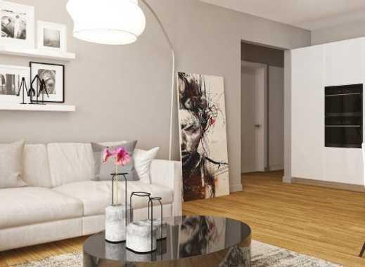 4-Zimmer-Penthousewohnung in Neubau mit tollem Ausblick!
