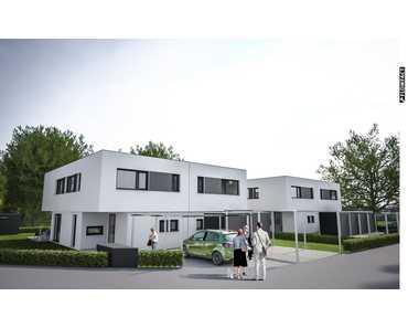 NEUBAU von Doppelhaushälften in Dachsbach in Dachsbach