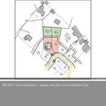Bau-Grundstück für Einfamilienhaus mit Garage