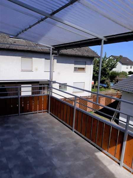 Helle 3-Zimmer-Wohnung mit Balkon und Garage in Niedernberg in Niedernberg