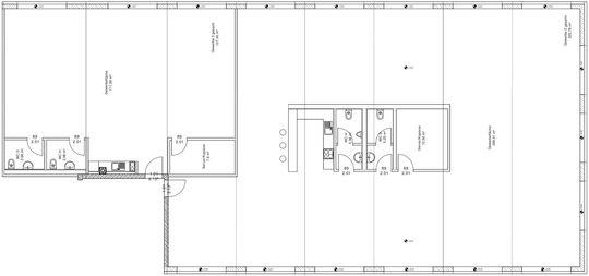 Grundriss Büro 1 +2