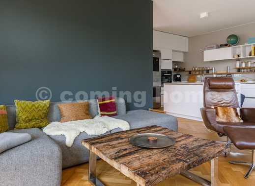 Wohnen wie bei guten Freunden: Individuelles ruhiges Apartment mit Terrasse & zwei Schlafzimmern