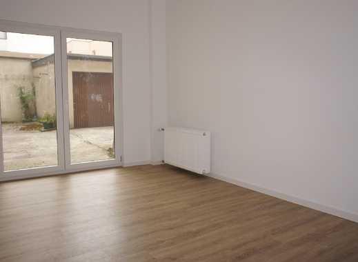 D-Bilk- Uni-Nähe: Alles Neu: 2 Zi. /44m², Terrasse zum Hof, sep. Küche, barrierefrei!