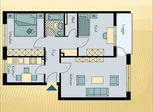 2,5 Zimmer Wohnung, ideal für die junge Familie