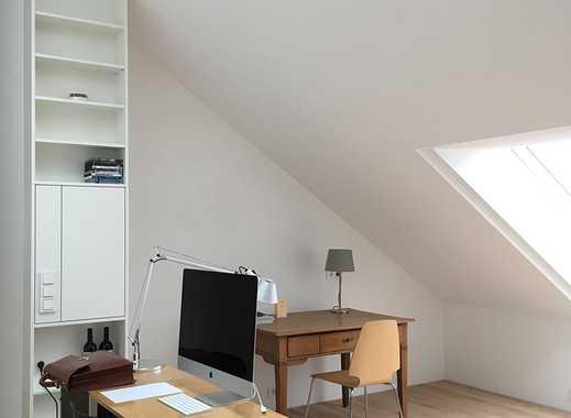 Erstbezug nach Dachneubau: luftige 1-Zimmer-DG-Wohnung im Inselgebiet