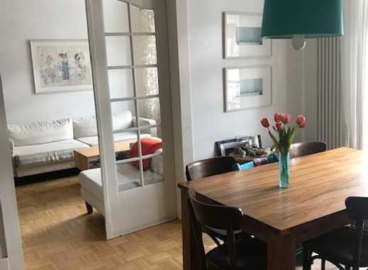 Helle, großzügige Altbauwohnung mit Weitblick in Heidelberg Handschuhsheim