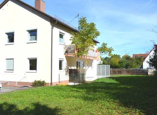 v. Privat: sehr schöne, helle u. traumhaft ruhige 3 Zi. Terrassen Whg.114 qm mit sehr großem Garten