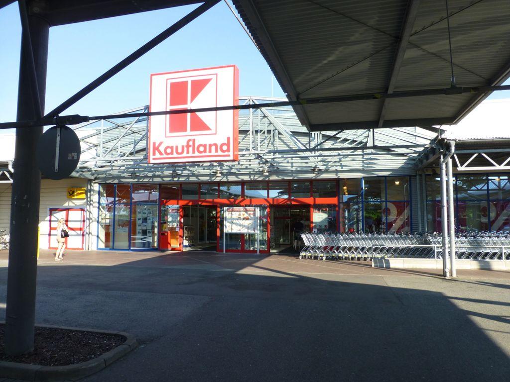 Eingangsbereich Kaufland