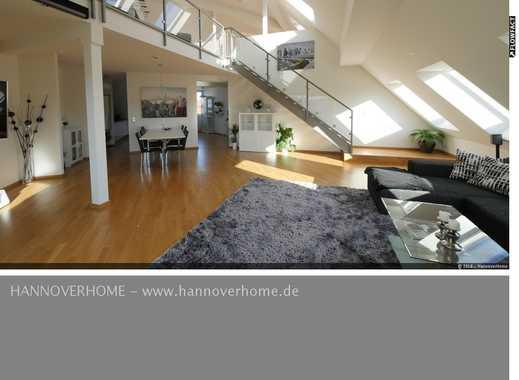 Südstadt - Traumwohnung mit offener Galerie-Ebene, Dachterrasse und Tiefgaragenstellplatz