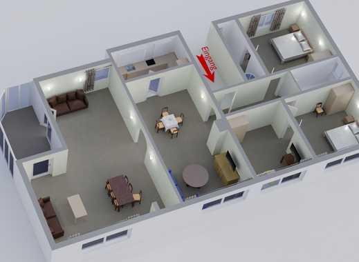 Schon 5 Zimmer Wohnung *mit Wintergarten* Nähe Kurpark Bad Orb Zu Vermieten