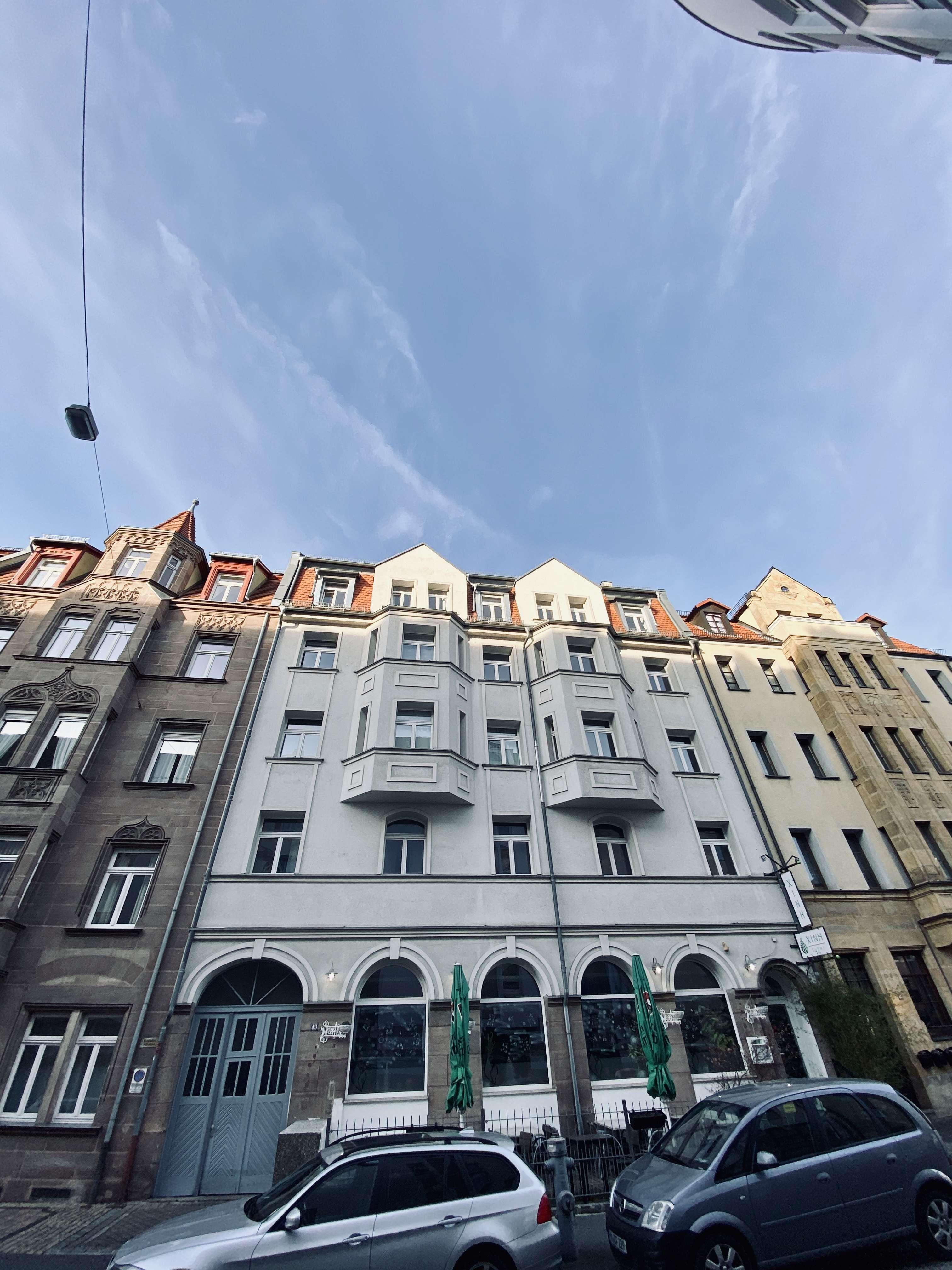 Attraktive 4-Zimmer-Wohnung mit Balkon in Nürnberg, 5 Minuten zum Hauptbahnhof in Galgenhof (Nürnberg)