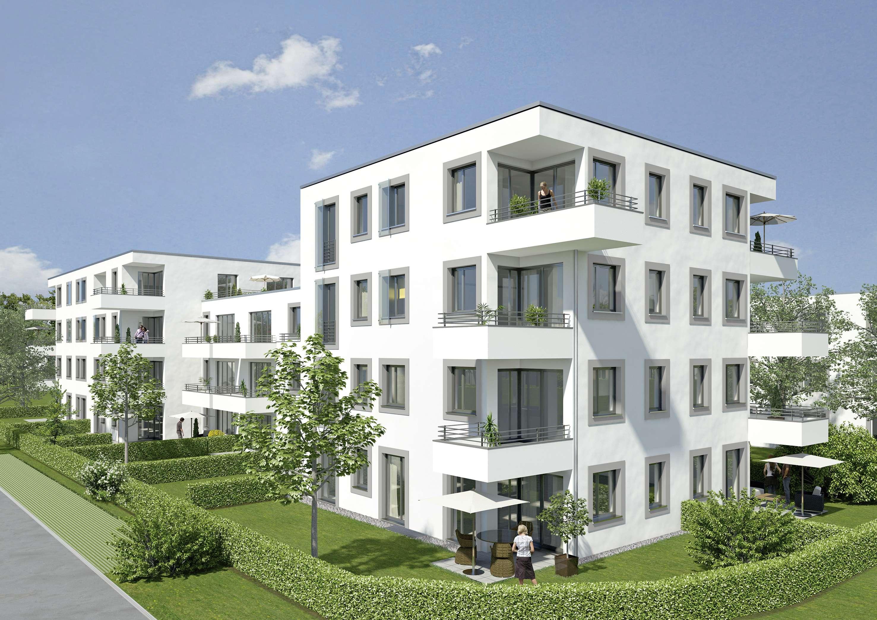 Schöne 2 Zimmer-Wohnung mit TG STP, schicker Einbauküche und Balkon im beliebten Candis Areal in Ostenviertel (Regensburg)