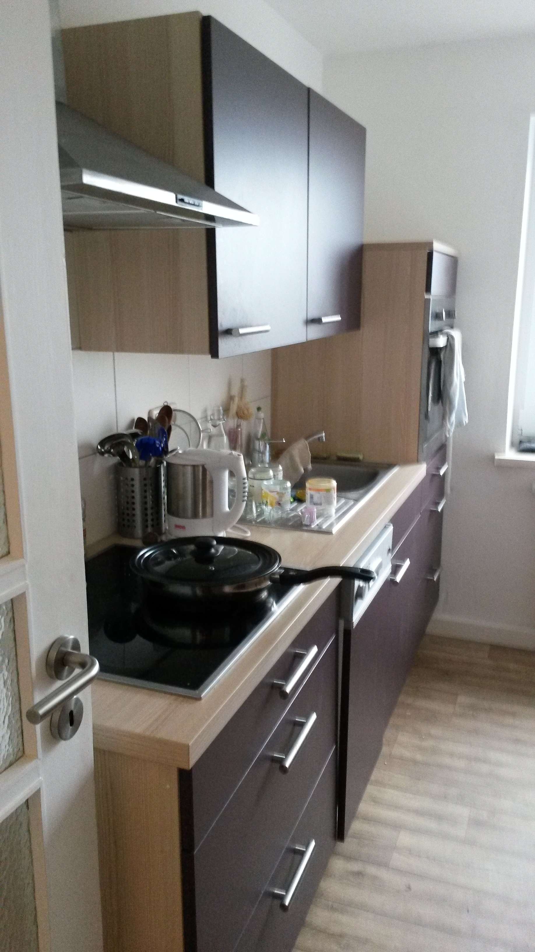 Preiswerte, gepflegte 3-Zimmer-Wohnung mit EBK in Hof in Hof-Innenstadt