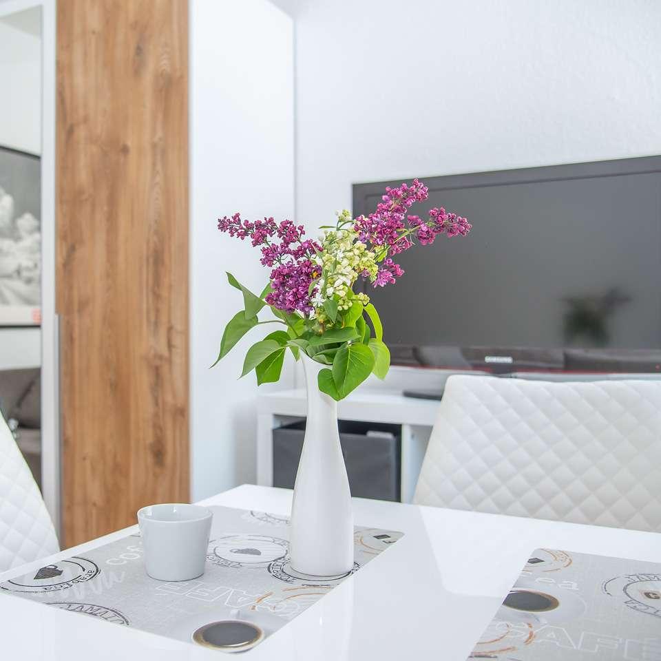 Stilvolles möblierte 1-Zimmer-Wohnung mit Einbauküche in Nürnberg: komplett ausgestattet inkl. WLAN in