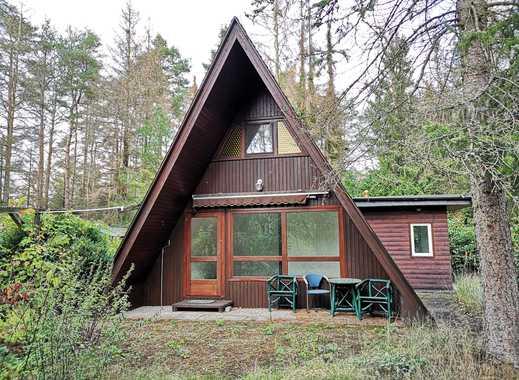 Nurda-Wohnhaus mit Carport in Wochenendgebiet mit Badesee