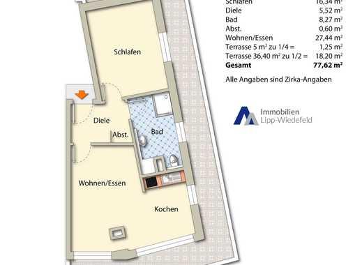 Erstbezug: Barrierefreie Neubauwohnung in Viersen, Dachgeschoß rechts