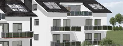 Erstbezug: Großzügige Obergeschosswohnung mit Loggiabalkon in Bad Oeynhausen